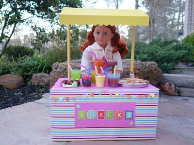 Cómo hacer un puesto de dulces para muñecas