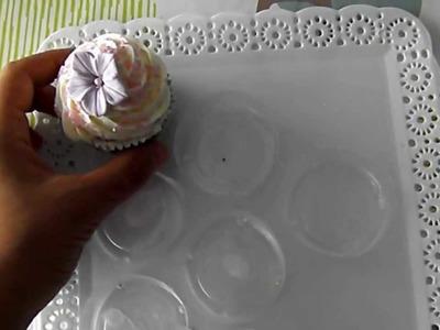 Como hacer una bandeja para Cupcakes.