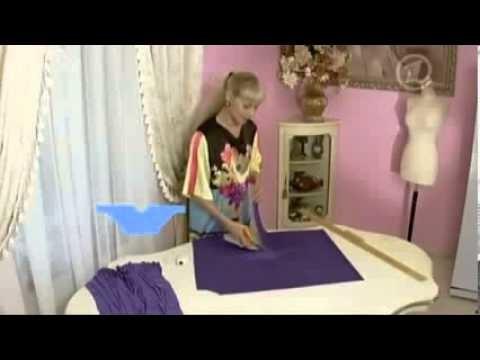 Como hacer una blusa para mujer gordita