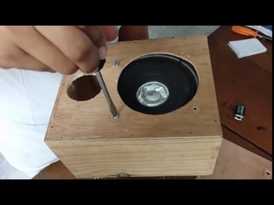 Como hacer una bocina casera