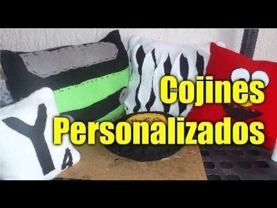 DIY Cojines personalizados