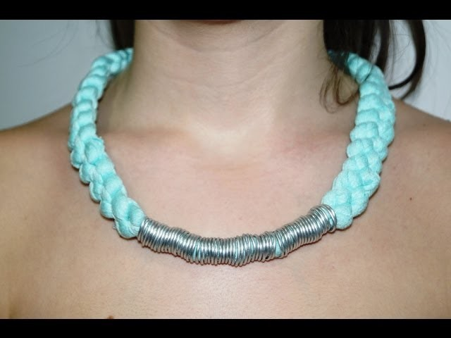 DIY  Collar con Trapillo