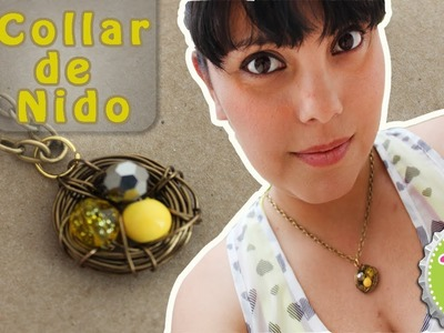 DIY: Collar de NIDO para Mamá!