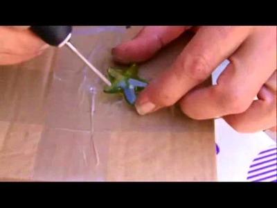 Diy. Como hacer agujeros en decoración de resina y plastico