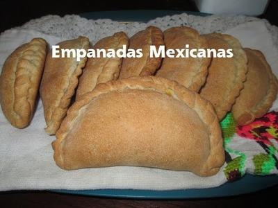 Empanadas Mexicanas de Calabaza