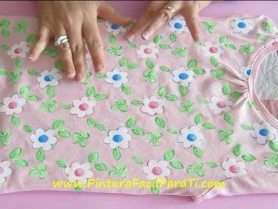 Fijador Textil Preguntas y Respuestas 2 - Pintura Facil Para Ti.wmv