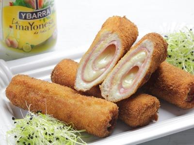 Flamenquines Ybarra de Pan de Molde