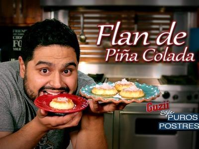 Guzii Style - Flan de Piña Colada