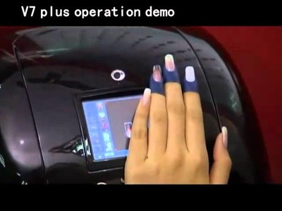 Impresora de uñas v7+ Demonstration Impresion uñas naturales
