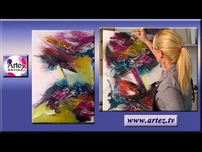 La composición de un cuadro abstracto (P II Final)
