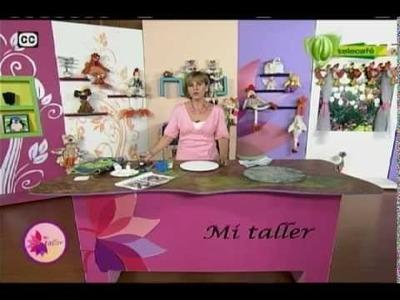 Mi Taller con la Técnica Vintage 24 de abril 2014 - Telecafé