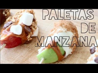 PALETAS DE MANZANA!