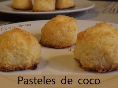 Pasteles de coco, ricos, rápidos y muy sabrosos , #239 - Cocina en video.com