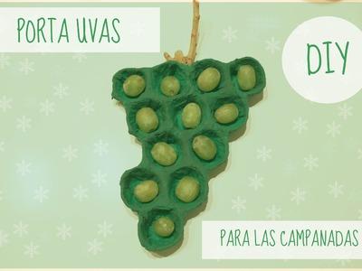 PORTA UVAS PARA LAS CAMPANADAS | DIY ( SUPER FÁCIL) | RECICLANDO CARTONES DE HUEVOS