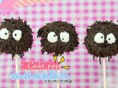 Susuwatari Cake Pops | Studio Ghibli
