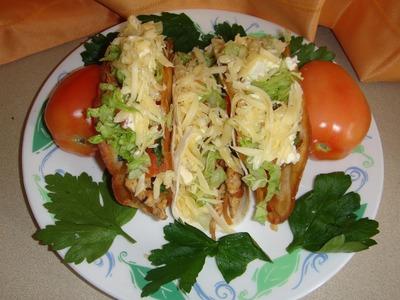 Tacos de pollo al estilo Mexicano Receta fácil