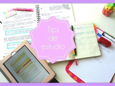 Tecnicas de estudio -  saca buenas notas - Tips de estudio