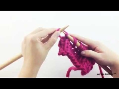 Aprender a tejer disminuciones (parte I) - Cómo tejer
