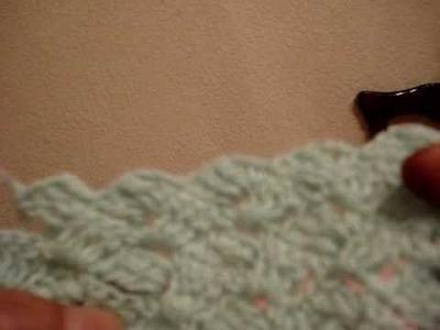 Cobijita para bebe Conchitas o Panelitas Inclinadas
