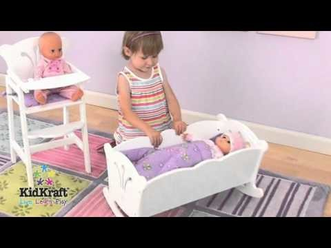 Cuna para muñecas KidKraft en EurekaKids