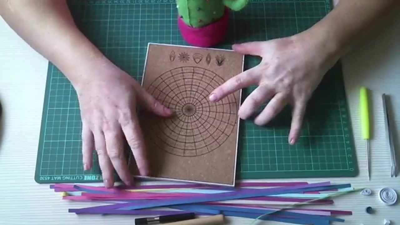 Tutorial 1: Quilling - Materiales para trabajar.