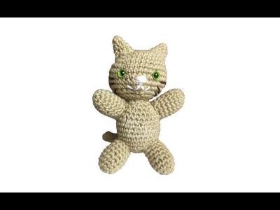 Tutorial Gato Amigurumi Cat (English subtitles)