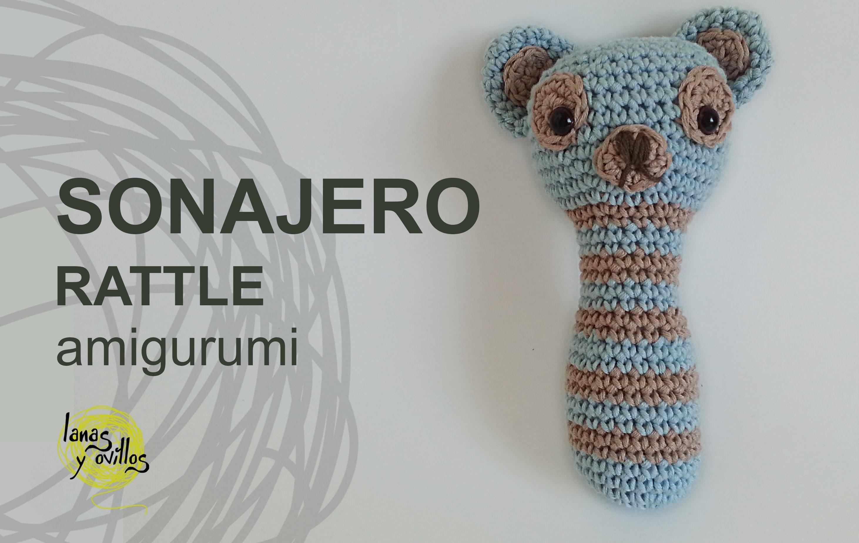 Tutorial Sonajero Amigurumi Rattle