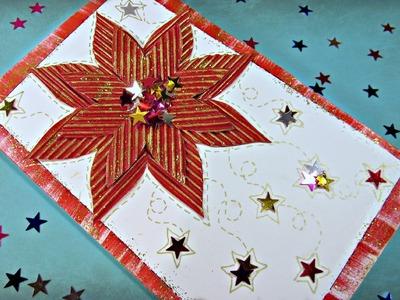 Tutorial: Tarjeta de Navidad 3D. Christmas card.