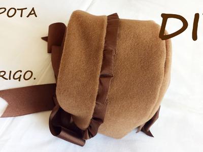 Capota abrigo de niña con patronesmujer.com.