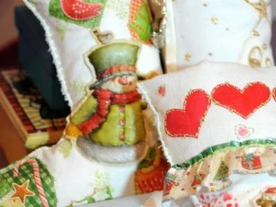 Como hacer Botas Navideñas - Decoupage - Servilletas
