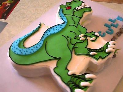 Dinosaurio QueXquisito para Guille en su cumpleaños