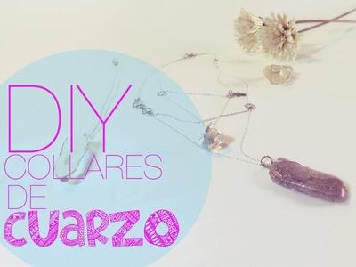 DIY | Collares de Cuarzo | Quartz Necklace ♡ JustLiveAlicia