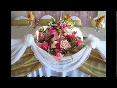 Ideas centros de mesa para bodas