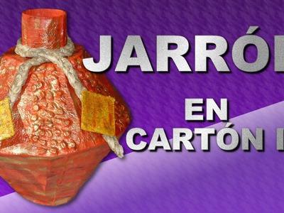 JARRÓN EN CARTÓN II