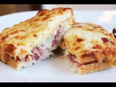 Receta: Como Hacer Sandwich Frances Croque-Monsieur - Silvana Cocina Y Manualidades