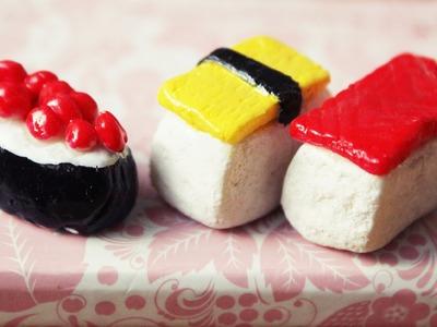 Sushi en miniatura (Porcelana Fría) - Miniature Sushi
