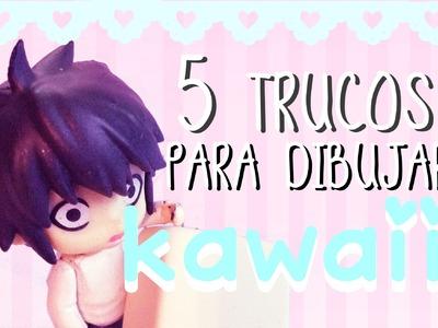 Trucos para dibujar KAWAII | 5 Tips Básicos