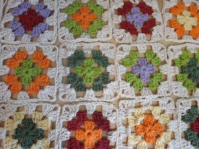 Como Crochet Granny Squares