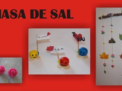 COMO HACER MASA DE SAL