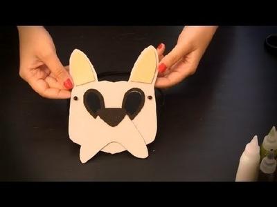 Cómo hacer un antifaz de perro : Antifaces de animales para niños