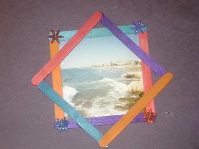 Como hacer una estrella de 8 puntas para decorar la pared