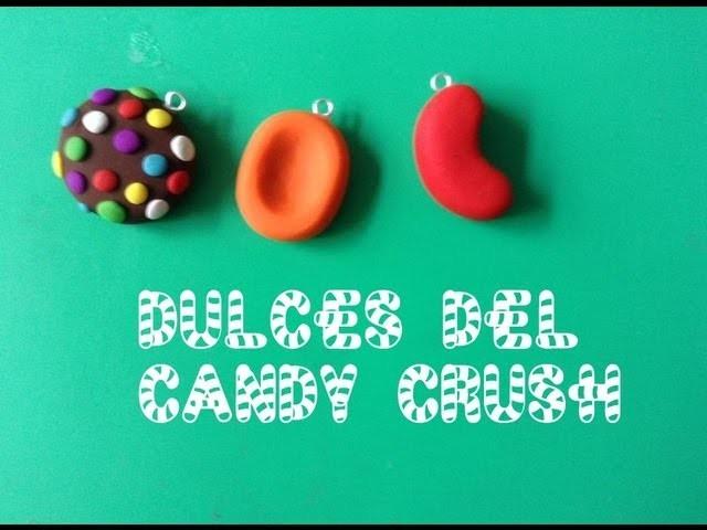 Dulces del Candy Crush en arcilla polimérica :)