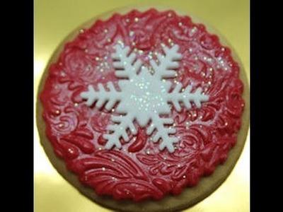 Galleta decorada de Navidad. Cookie navideña