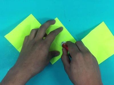Hacer cartas creativas - Forma de acordeón