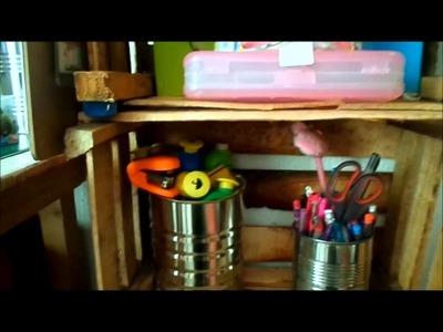 Mi cuarto de Manualidades.Creativeroom.VLOG