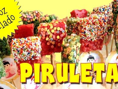 Piruletas de cereal o arroz inflado (RKT) | Fiestas infantiles