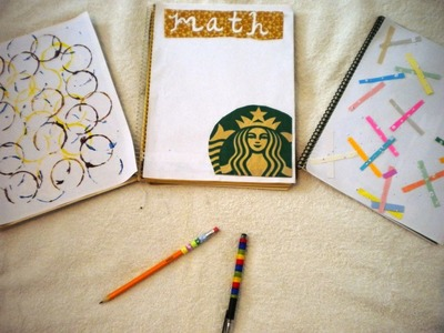 Regreso a Clases 2014 | Tips e ideas para decorar material escolar | Back to School 2014