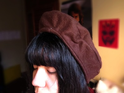 Tutorial - Como hacer una Boina doble | How to sew a double hat
