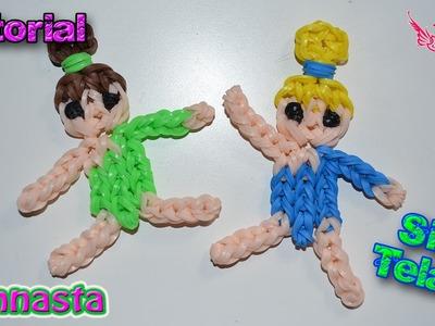 ♥ Tutorial: Gimnasta de gomitas (sin telar) ♥