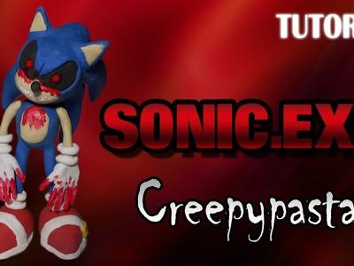 Tutorial Sonic.exe en Plastilina | Creepypasta | Sonic.exe Clay Tutorial